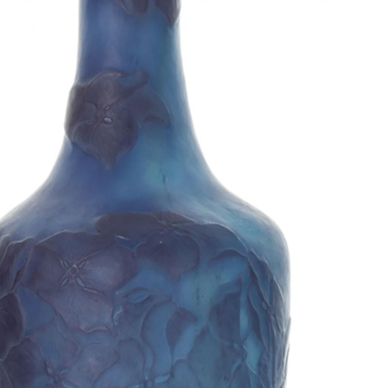 エミール・ガレ アジサイ文花瓶