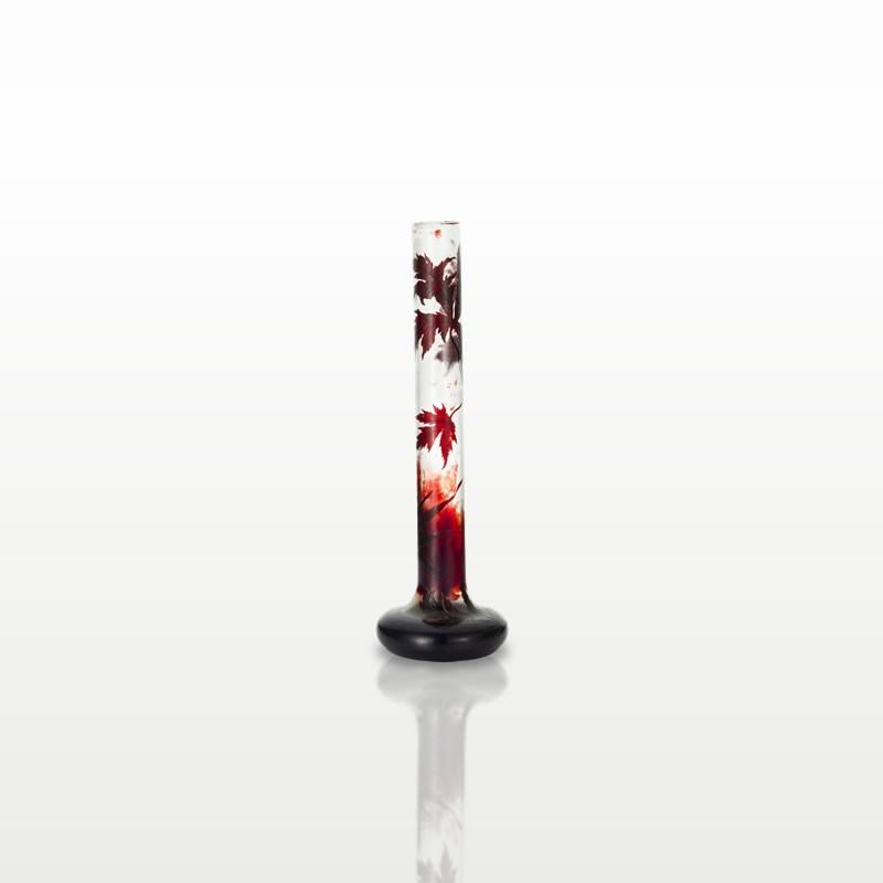カエデ文花瓶