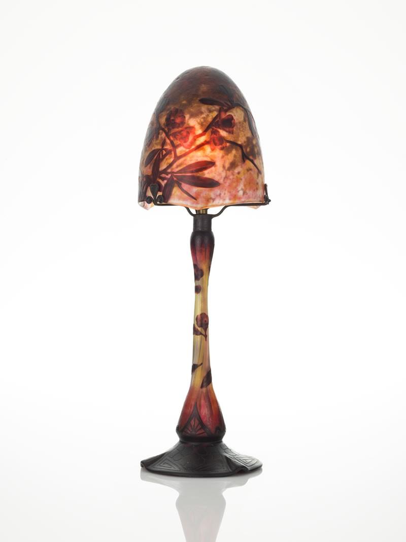 ドーム ミラベル文卓上ランプ